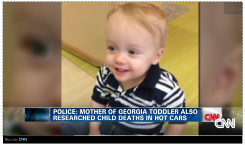 Georgia Toddler Also Researched Child Deaths in Hot Cars